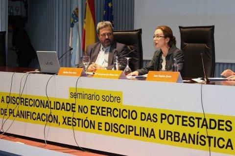 María Encarnación Rivas Díaz, Secretaria Xeral de Ordenación do Territorio e Urbanismo. - Seminario sobre a Discrecionalidade no Exercicio das Potestades de Planificación, Xestión e Disciplina Urbanística